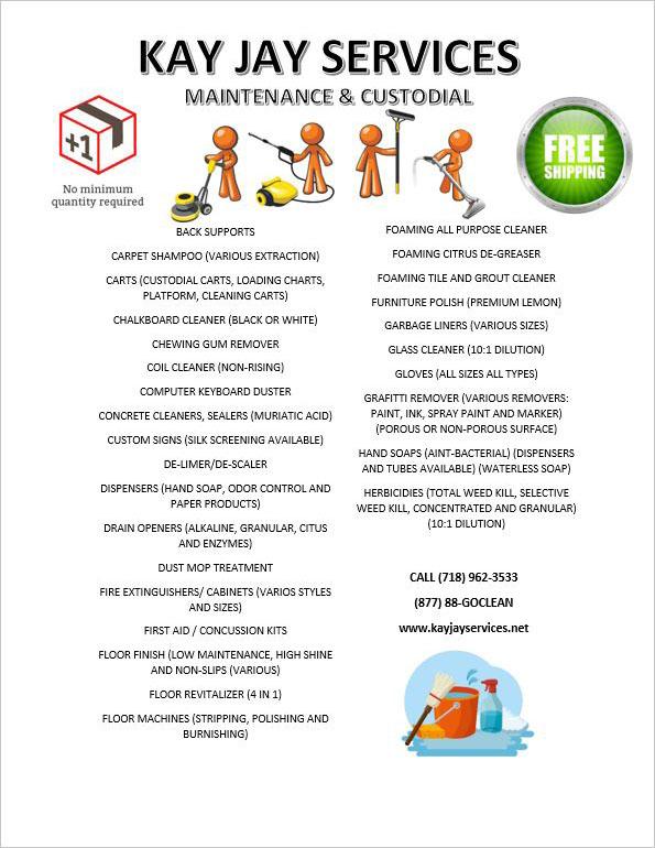 Maintenance & Custodial