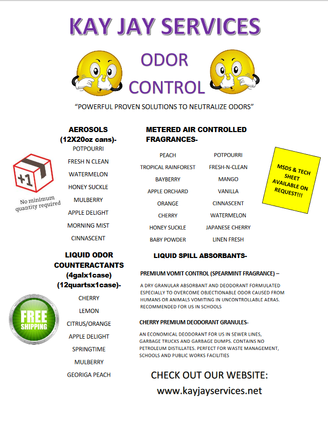 Odor Control Flyer