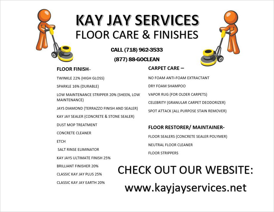 Floor Care & Finishes