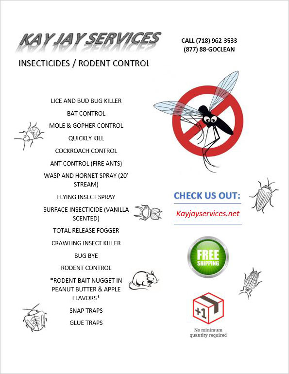 Insecticides Flyer